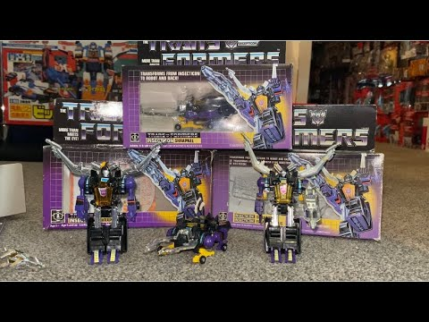 Transformers G1 Shrapnel Collection Rare Orange Chest Ceji Variant by Toys Are Russ
