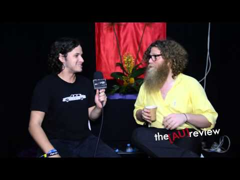 Ben Caplan (Canada) - Interview at Bluesfest Byron Bay 2013.