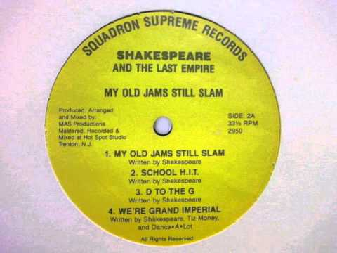 SHAKESPEARE AND THE LAST EMPIRE - SCHOOL H.I.T. ( rare 1989 NJ rap )