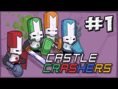 Огненный Рыцарь против Варваров - Castle Crashers #1