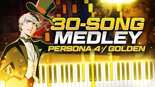 30 PERSONA 4 SONGS in 10 MINUTES!!! (Persona 4 / Persona 4 Golden Medley)