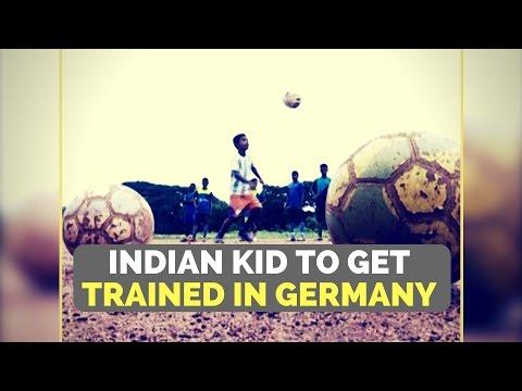 Indian slum boy makes it to Bayern Munich Football Club