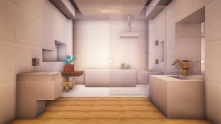 Minecraft: How to Build a Modern Bathroom
