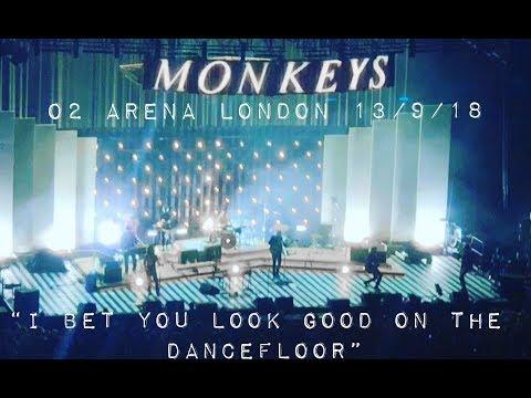 Arctic Monkeys - I Bet You Look Good On The Dancefloor - Live O2 Arena London