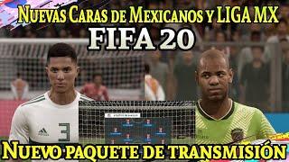 Nuevos rostros Mexicanos y LIGA MX FIFA 20/ Nuevo paquete de transmisión LIGA MX