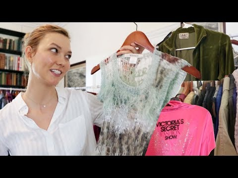 Going through my closet! Story time :) | Karlie Kloss