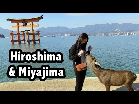 JAPAN Vlog #10 : Hiroshima and Miyajima | Atomic Bomb Dome, Peace Memorial Museum, Miyajima Island