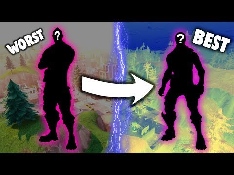 RANKING *EVERY* PURPLE SKIN FROM WORST TO BEST!!! (Fortnite Battle Royale)