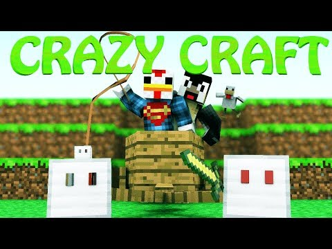 Minecraft | CrazyCraft - OreSpawn Modded Survival Ep 16 -