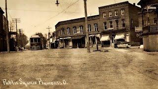 Vintage Scenes of Plymouth, Ohio