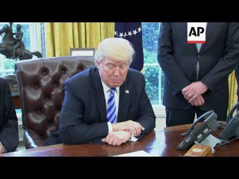 Trump praises US$25B US investment charter