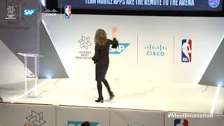 Amy Brooks, President, TMBO & CIO, NBA - Technology enhancing in-arena experience