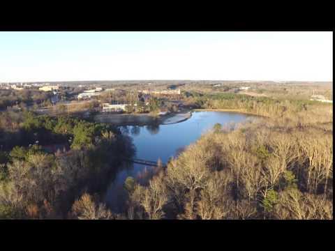 Lake Herrick Athens GA (Aerial footage)