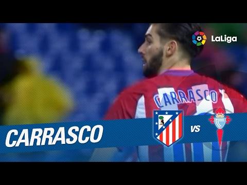 Golazo de Carrasco (2-2) Atlético de Madrid vs Celta de Vigo