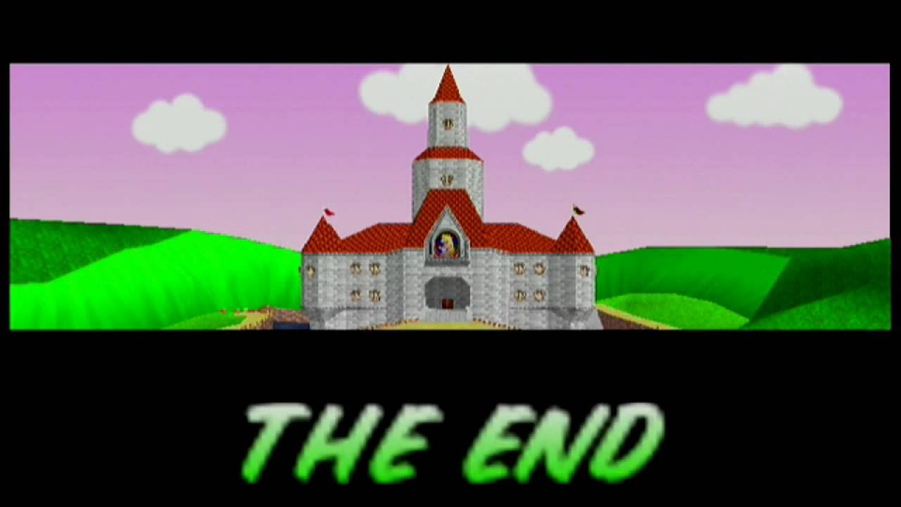 Mario Kart 64 Ending Credits HD Europe YouTube