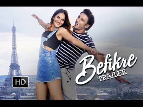 Befikre Official Trailer - Ranveer...