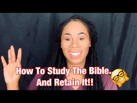 How To Study The Bible- EFFECTIVELY! | Five Foundational Tips | The Foundation Series