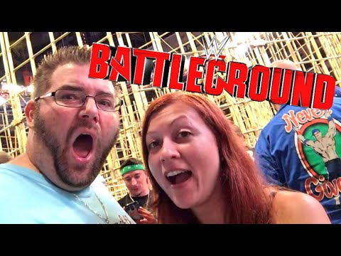 LIVE WWE BATTLEGROUND REACTIONS FROM 3RD ROW! GREAT KHALI RETURNS TO PUNJABI PRISON!