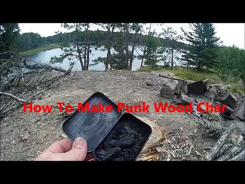 How to Make Punk wood char