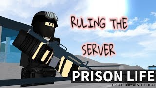 ROBLOX | Ruling the servers of Prison Life with my sisters! | PART TWO