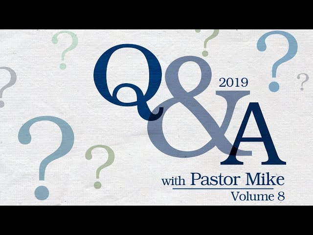 Question & Answer Service 2019-Part 1