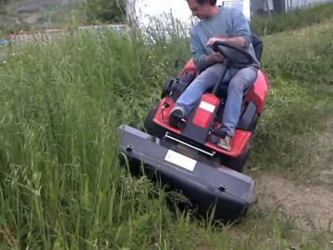 Trincia sarmenti bcs 630ws bladerunner 75cm funnydog tv - Tondeuse pour terrain en pente ...