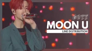 GOT7 - Moon U | Line Distribution MP3