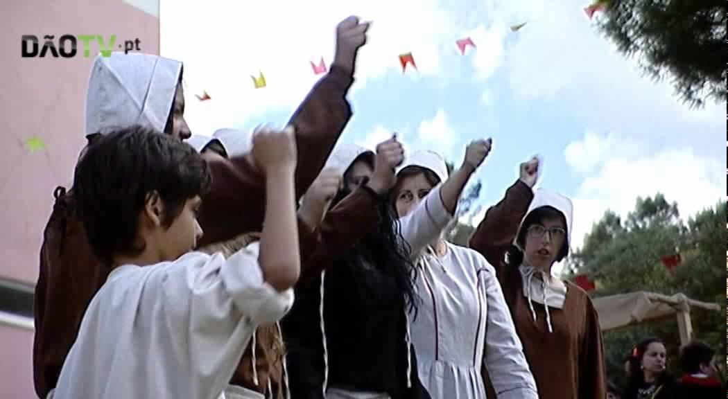 67189908749 Feira Medieval na Escola Básica Integrada e Secundária Jean Piaget foi um  sucesso