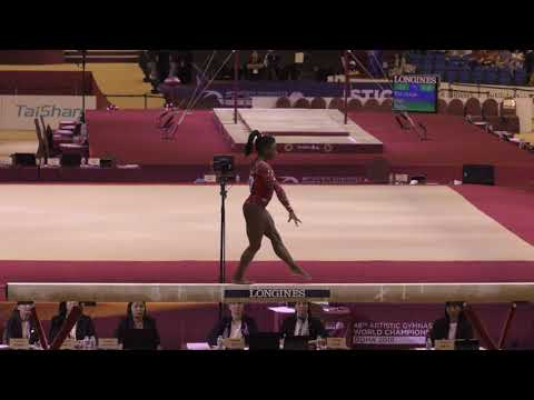 Simone Biles - Balance Beam - 2018 World Championships - Events Finals