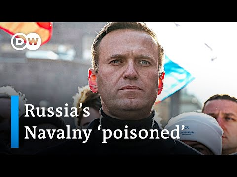 Russian opposition leader Navalny in coma after allegedly being poisoned | DW News