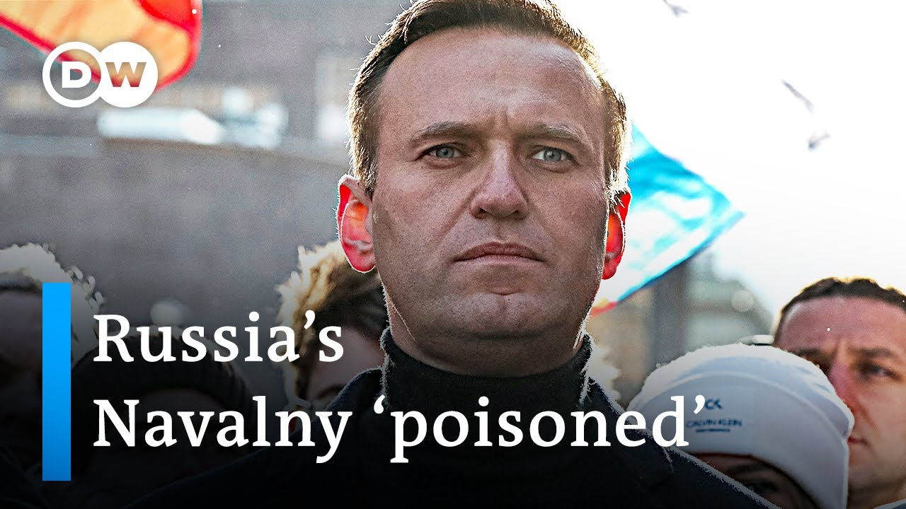 'Poisoned' Russian opposition leader in a coma