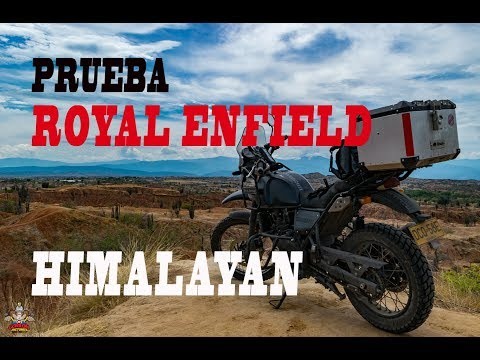 PRUEBA ROYAL ENFIELD HIMALAYAN