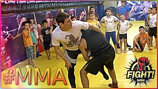 Прием БЫЧОК захват за ногу  тренировка для #ММА от тренера  / Mixed Martial Arts  #Children #SPORT