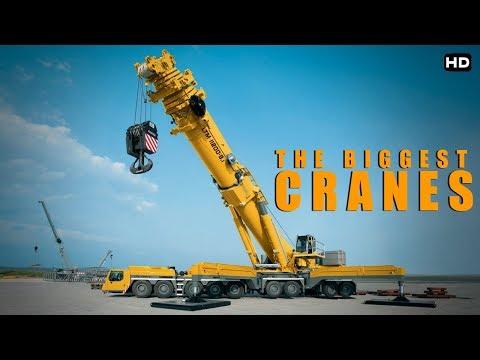 इतनी बडी क्रेन आपने कभी नही देखी होगी  | Massive Engineering Biggest Cranes