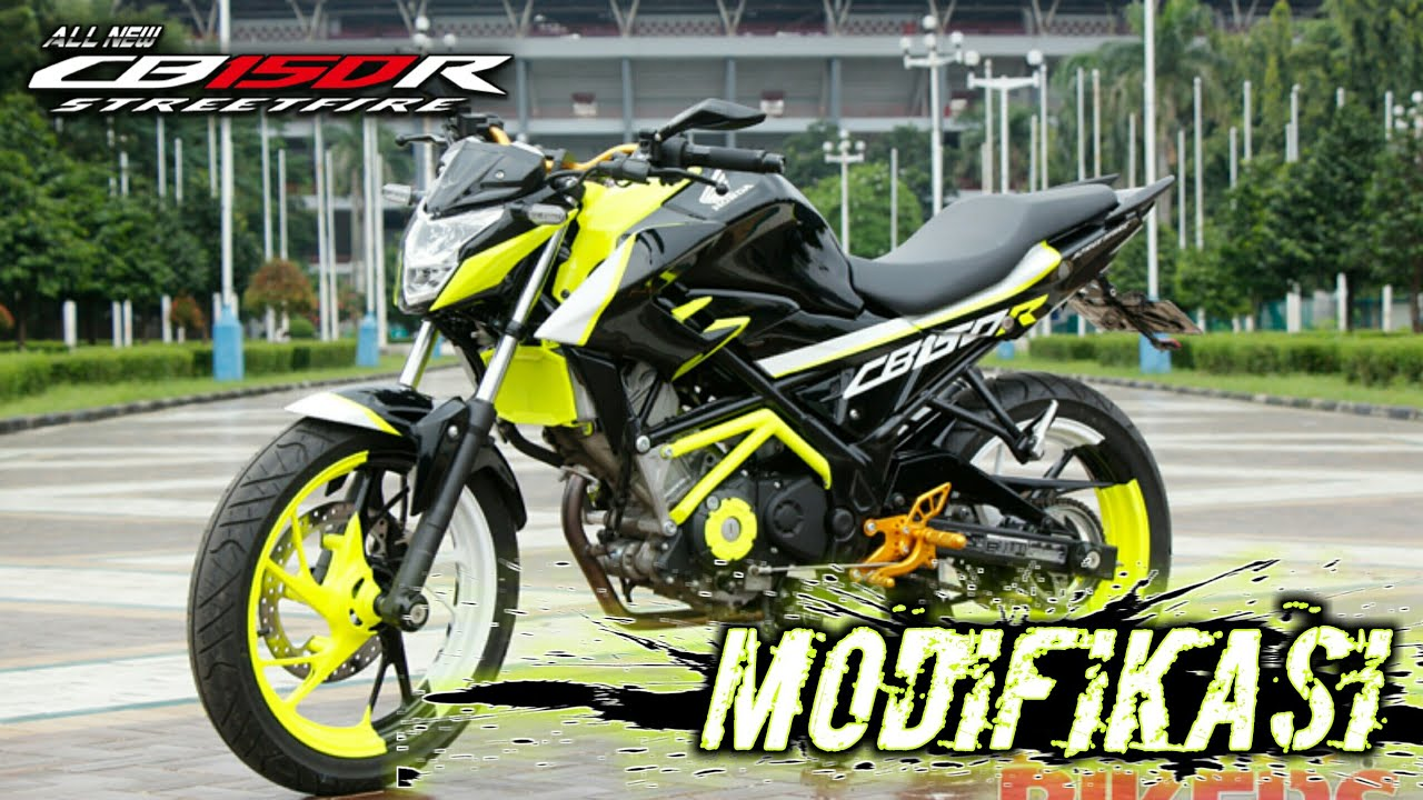 Galleri Kumpulan Modifikasi Honda New Cb 150 R
