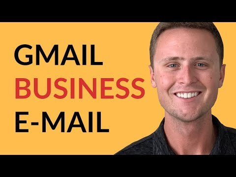How To Setup a Business Email & Use It With Gmail For FREE thumbnail