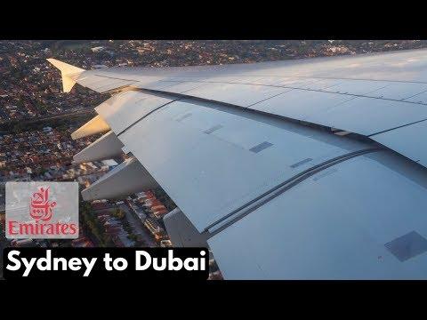 Emirates - EK415: SYDNEY TO DUBAI - A380-861 (A6-EEO) *ECONOMY CLASS REVIEW*