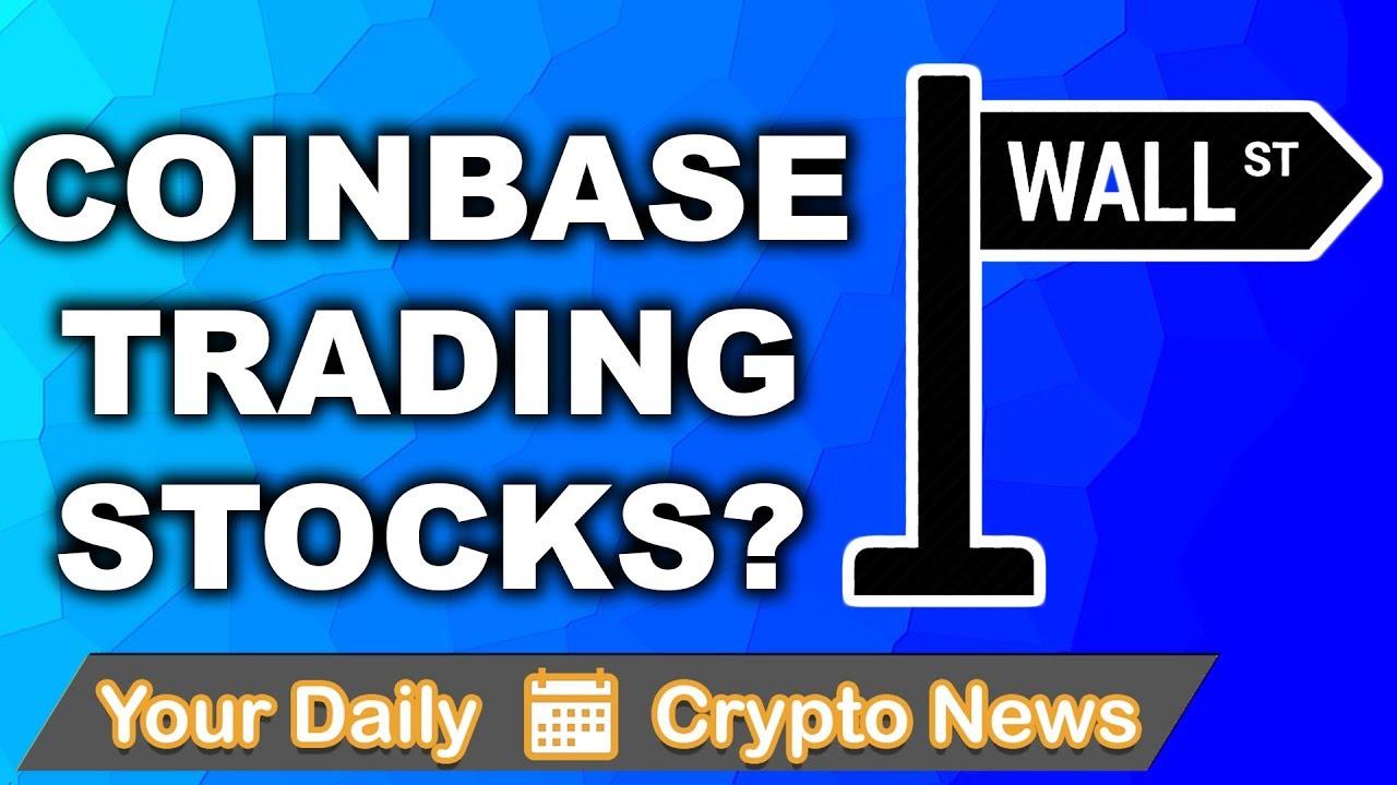 Altcoin & Crypto News: Coinbase Trading Stocks? | $VEN $ELA $WTC $ENG $XTZ