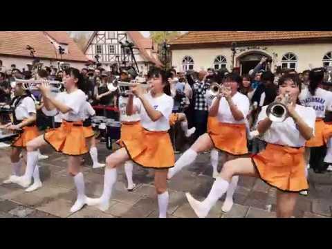 京都橘高校吹奏楽部 ブルーメの丘2019【4K】 sing sing sing トランペット Kyoto Tachibana SHS Band ▶2:35