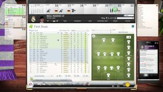 FIFA Manager 13 - First Steps - HD Gameplay