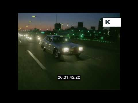 1980s Johannesburg Night Drive, HD from 35mm   Kinolibrary