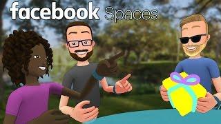 بالفيديو: فيسبوك تعلن عن قفزة عملاقة بتدشين تقنية الواقع الافتراضي للتواصل بالعقول Facebook Spaces