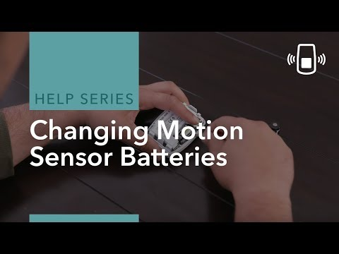 How to Change an ADT Motion Detector Battery