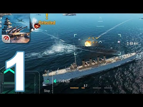 World Of Warships Blitz - Gameplay Walkthrough Part 1 (iOS, Android)