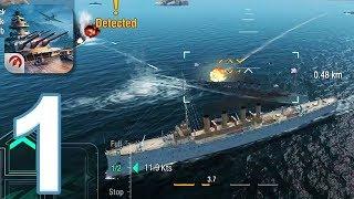 World of Warships Blitz - Gameplay Walkthrough Part 1 (iOS, Android)