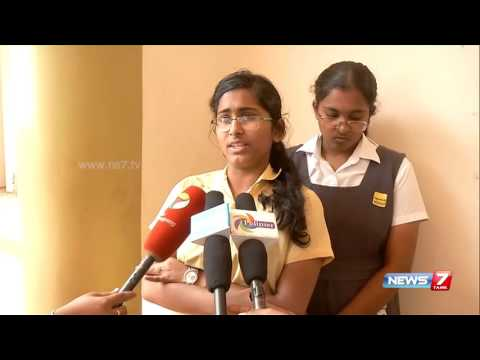 School students visits Coimbatore collector seeking closure of industry | News7 Tamil