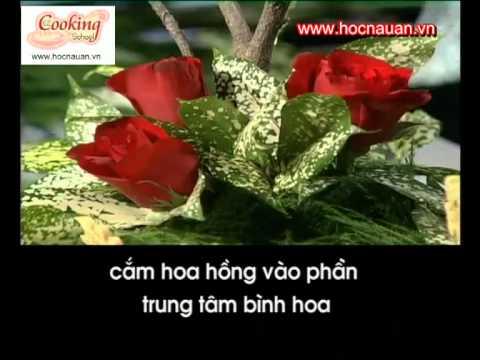 Hướng dẫn cắm thuyền hoa hồng