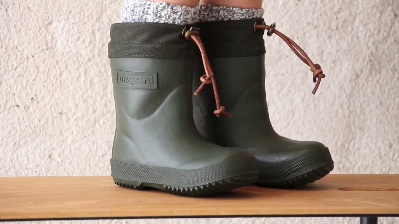 the best attitude 1dacc d127d Quality thermo rubber boots from bisgaard (92009.999 - 30 green)
