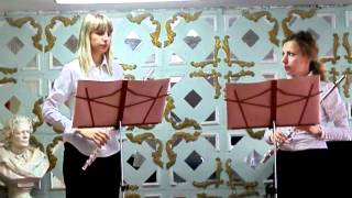 Quantz  Duet for flutes..MP4