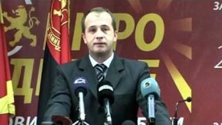 Прес на Александар Бичиклиски (07.11.2010)